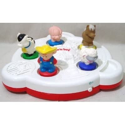See 'N Say 3d Farm Barn Music Animal Sounds Autism Toy: Toys & Games