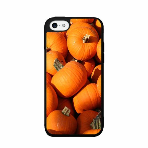 BleuReign(TM) Pumpkin Patch - Plastic Phone Case Back Cover (iPhone 4 4s) (Halloween Cutouts For Pumpkin Carving)