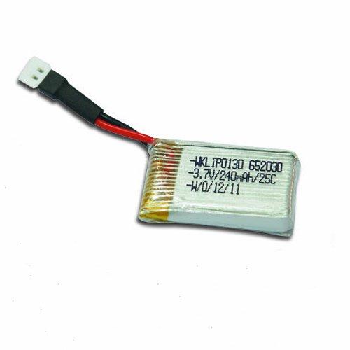 Walkera 25C 1S 240mAh 3.7V LiPO Battery for Ladybird V2/Mini CP RC Quadcopter