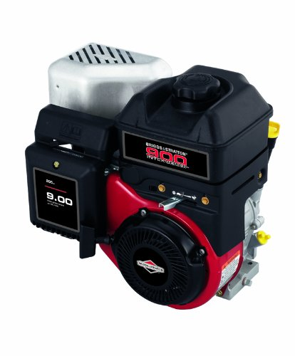 - Briggs and Stratton12S402-0028-F8 205cc 9.00 Gross Torque Engine with a Tapered 2-23/32-Inch Length Crankshaft