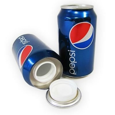 Pepsi Cola 12oz Can Safe Hidden Storage Secret Diversion Stash Fake Soda Money