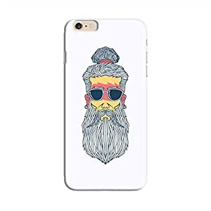 Cover It Up - Hipster Yogi iPhone 6/6s Hard Case