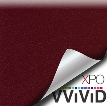 VViViD Marine Waterproof Vinyl Fabric Choose Your Color Sold by the Yard (Burgundy)