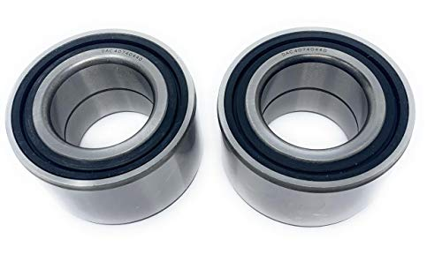 Iconic Racing Both Rear Wheel Bearings Compatible with 96-13 Polaris Sportsman 500 570 4x4 HO DUSE EFI EPS HD X2 SP Touring Forest