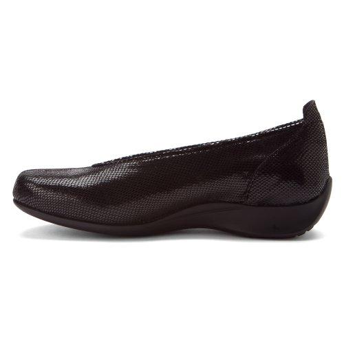 Wolky Comfort Veterschoenen Vliegen Zwarte Slang