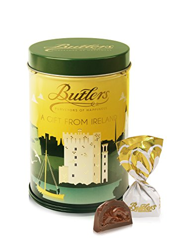 Butlers Box Of Assorted Chocolates In A Tin, A Gift From Ireland