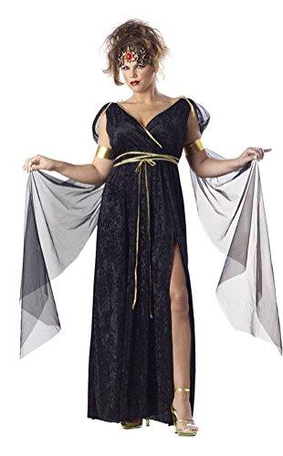 POPLife Medusa Roman Greek Goddess Plus Size Adult Costume (Greek Goddess Plus Size Costume)