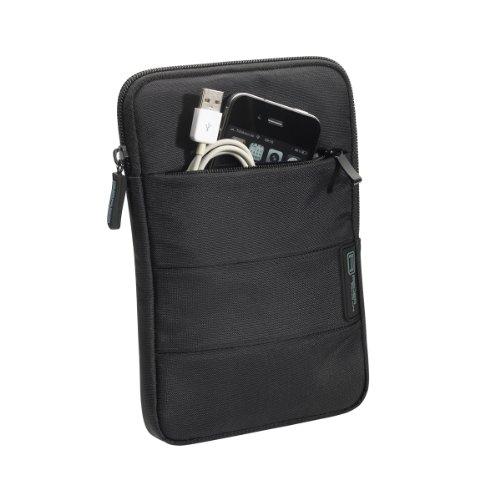 PEDEA Tasche mit Zubehörfach schwarz für Apple iPad mini 4 / mini 3 / mini 2