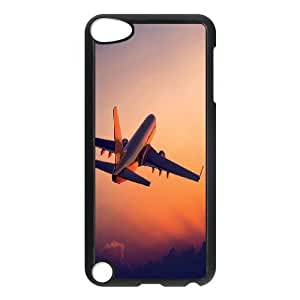 Plane Takeoff Customized Durable Hard Plastic Case Cover LUQ220613 For Ipod Touch 5