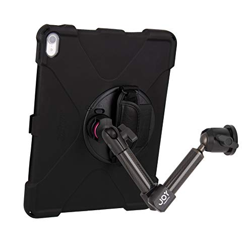 The Joy Factory MagConnect Carbon Fiber Wall/Counter Mount with aXtion Bold MP Water-Resistant Rugged Shockproof Case for iPad Pro 12.9'' [3rd Gen], Built-in Screen Protector, Hand Strap (MWA4104MP) by The Joy Factory (Image #9)