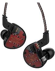 2018 KZ ZS10 4BA con 1 dinámico híbrido 5 conductores, auriculares intrauditivos HIFI DJ Monito Running Sport auriculares (sin micrófono, negro)