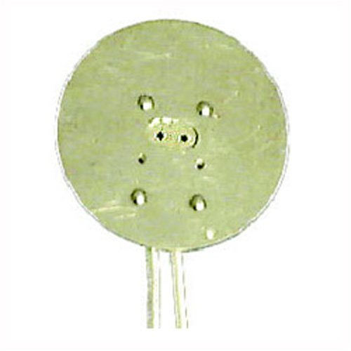 Aluminum Faced Miniature Bi-Pin Socket for MR16 Two Pin Halogen Light Bulbs