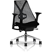 Herman Miller Sayl Task Chair: Tilt Limiter - Adj Lumbar Support - Stationary Seat Depth - Stationary Arms - Standard...