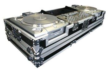Nsp Cases Numark CDX o HDX Tocadiscos y un mezclador de 19 ...