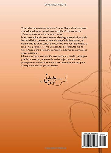 A la guitarra: Amazon.es: Salvador Carbó: Libros