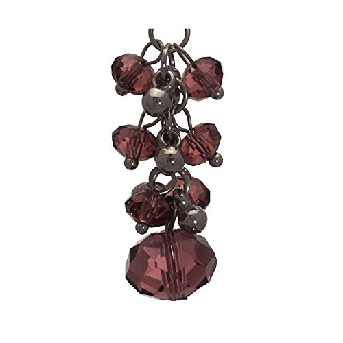 ACELINE Ohrringe Amethyst Crystal Hook