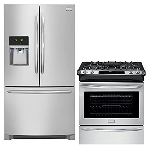 Frigidaire Gallery 2 Piece Smudge Proof Stainless Steel Kitchen Package  With FGHF2366PF 36u0026quot;