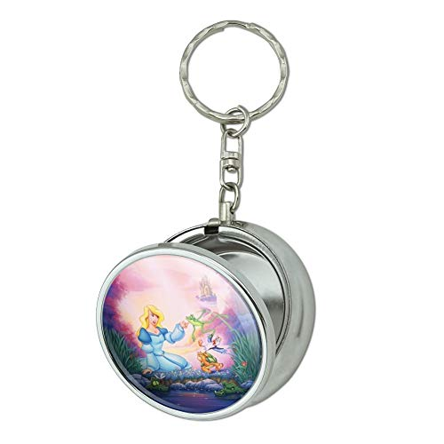 Odette Ring - GRAPHICS & MORE The Swan Princess Odette Jean-Bob Frog Puffin Speed Turtle Portable Travel Size Pocket Purse Ashtray Keychain with Cigarette Holder
