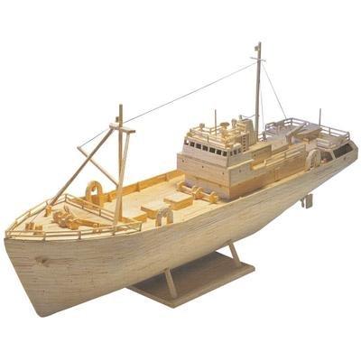 Matchmaker Trawler - Matchstick Ship Modelling Kit Matchmodeller MM21