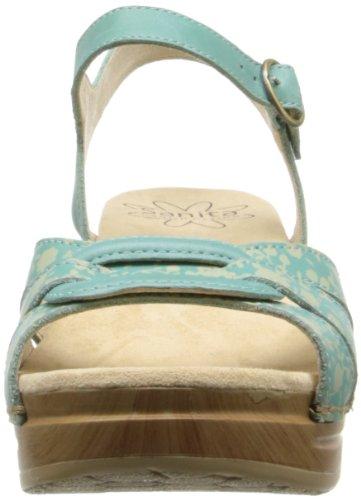 Femme Cuir Pour En Sanita Multicolore Sandales Sangle clair Bleu Cheville Destiny qnRxHwg