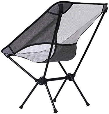Edward Jackson Ultraleichter Kleiner Campingstuhl Camping Klappstuhl Heller beweglicher Moon Chair Außen Freizeit-Stuhl Strand-Stuhl Barbecue Klappstuhl Outdoor