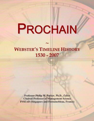 Prochain: Webster