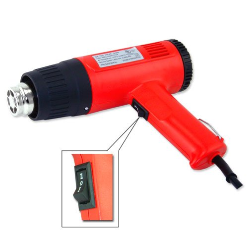 - 2 Speed Heat Gun 700f and 925f 1500w Paint Striping Heat Gun