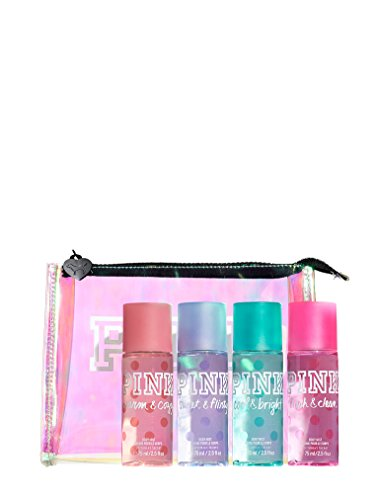 Mist Bag (Victoria's Secret PINK Body Mist Gift Bag: Fresh & Clean, Warm & Cozy, Sweet & Flirty, Cool & Bright)