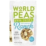 World Peas Santa Barbara Ranch Fava Crisps, 5.3 Ounce -- 6 per case.