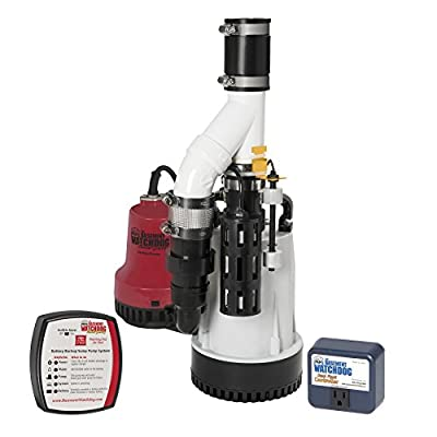 Glentronics, Inc. DFK-961 1/3 Horsepower Basement Watchdog Submersible Combination Sump Pump System