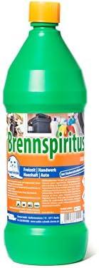 BasicNature Brennspiritus Brennstoffe grün 1 L