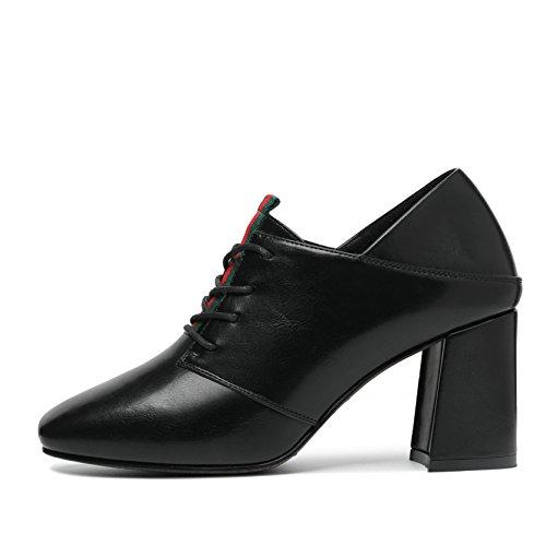 Zapatos de Piel JRenok de Vestir negro Mujer Otra 67qFZdFv