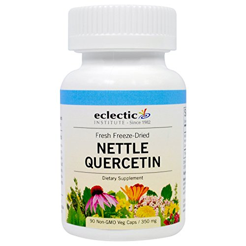 Eclectic Nettles Quercetin Freeze Dried Vegetables, Blue, 90 Count