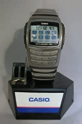 Brand New Rare Casio Men's EDB610-1 Databank Calculator Digital Stanless Steel Watch with 350 Page Databank