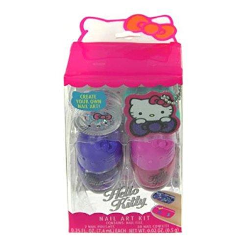 SANRIO Hello Kitty Nail Polish Set for Kids Cosmetics