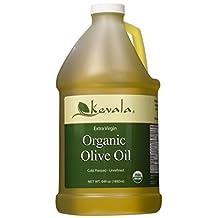 Kevala Extra Virgin Olive Oil, Organic, 1/2 Gallon (1,892ml)