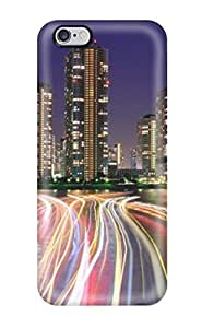 Tpu Shockproof/dirt-proof City Lights Tokyo Desktop Cover Case For Iphone(6 Plus)