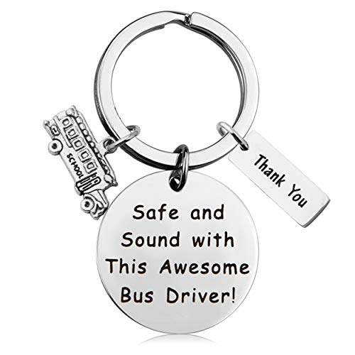 MAOFAED Bus Driver Gift Bus Driver Appreciation Gift Bus Driver Keychain Thank You Gift (Bus Driver Gift)