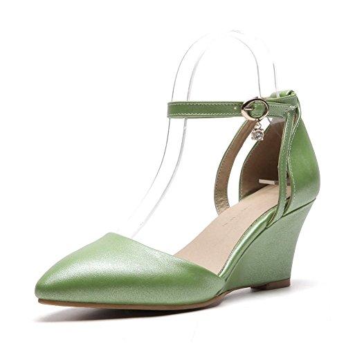 Sandales Compensées Femme SLC04294 5 36 Vert AdeeSu Green qP4H5x