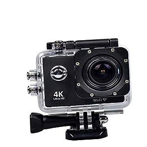 Lizzie 4K Action Camera WiFi Waterproof Underwater Diving go Sport Camera HD 1080P Outdoor Sports