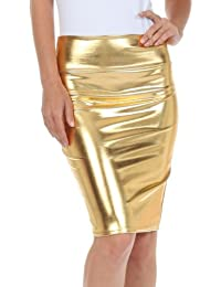 Amazon.com: Gold - Skirts / Clothing: Clothing, Shoes & Jewelry