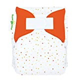 bumGenius All-In-One Newborn Cloth Diaper - Fits Babies 6 to 12 Pounds (Neutral Dots)