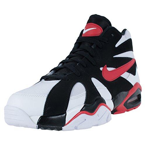 Nike Air Diamond Fury 96 Crosstrainers Witte Universiteit Rood Zwart 724971 100