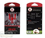 Boston Red Sox Navy & Red MLB Officially Licensed Deuce Ear Buds with Built-In Microphone & Hands-Free Functionality