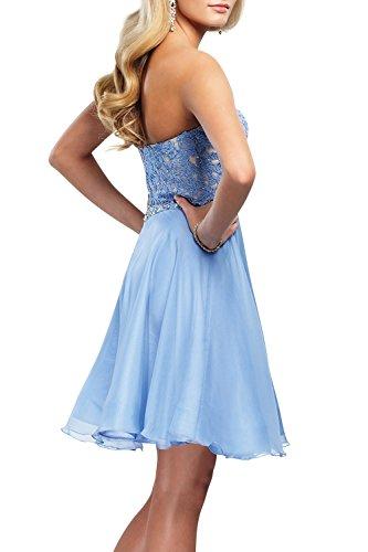 Neu Royal Tanzenkleider Blau Dunkel Partykleider Kurzes Mini Spitze Cocktailkleider Festlichkleider mia La Mini Abendkleider Brau UwPPq1