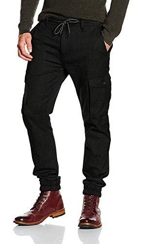 Semplice Black Con Fit Stile Pantaloni Unita Strech Silm Bandage Jeans tinta Uomo d Casual Multi WqpOFnw8