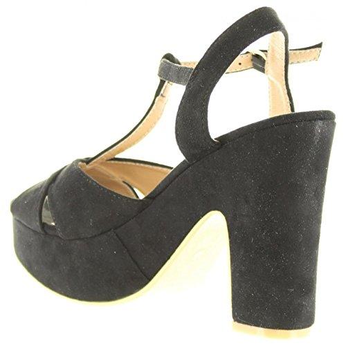 Sandalias de Mujer REFRESH 63603 ANTELINA NEGRO
