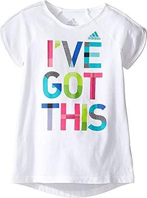 adidas Kids Womens Practice Tee (Toddler/Little Kids)