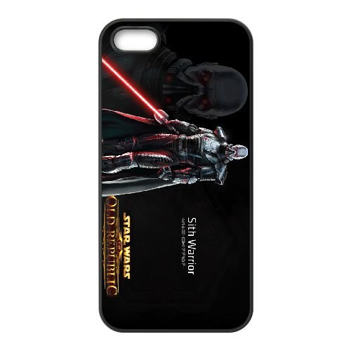 Star Wars The Old Republic 1 coque iPhone 4 4s cellulaire cas coque de téléphone cas téléphone cellulaire noir couvercle EEECBCAAN00361