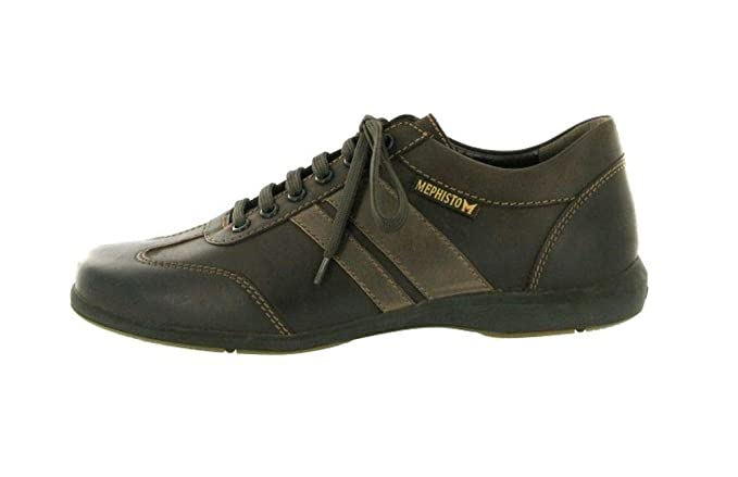 65764c3f98 Mephisto Men's Sport Lace-Up Balbo Dark Brown size 11.5 UK: Amazon ...